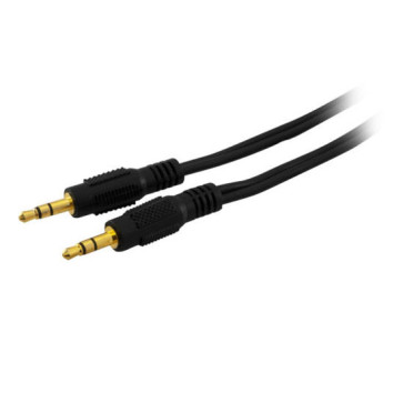Stereo 3.5mm Plug to 3.5mm Stereo Plug Cable 0.5m