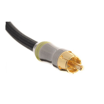 Ultra Premium Digital Coaxial Coax Cable RCA Audio S/PDIF Lead Gold Plated 15m