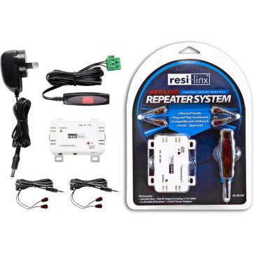 Resi-Linx RL-IR100 IR Wired Repeater Kit Suits Foxtel RLIR100
