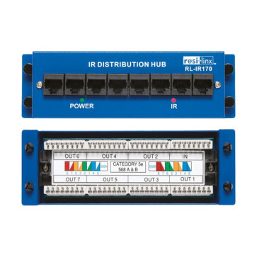 Resi-Linx RL-IR170 IR CAT5e Distribution Hub