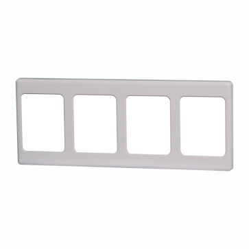 Clipsal 4 Way Multigang Wallplate Shroud 2000/4WE