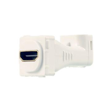 Digitek HDMI Right Angle Wall Plate Insert White 05BC6R