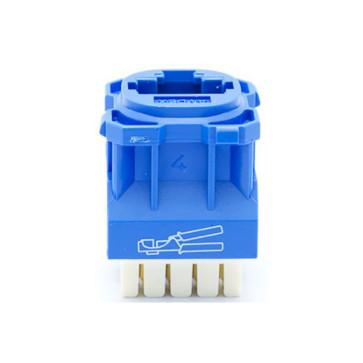 Amdex CAT6 RJ45 Network Insert Blue DA600BLU