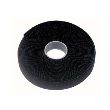 Cabac Pro Hook & Loop Cable Tie - 10mm x 10m Roll VT10BK/10M