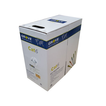 Grove CAT6 4 Pair Yellow Cable Box 305m