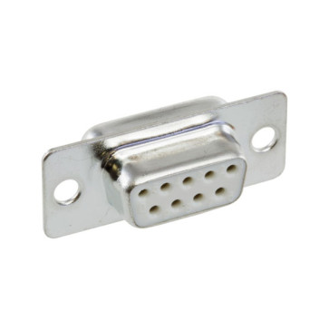 DB9 D Way Female Solder Socket Connector