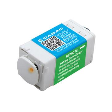 Cabac S-Click Hour Mech Timer 3 Wire 240V 5A HNS450TM