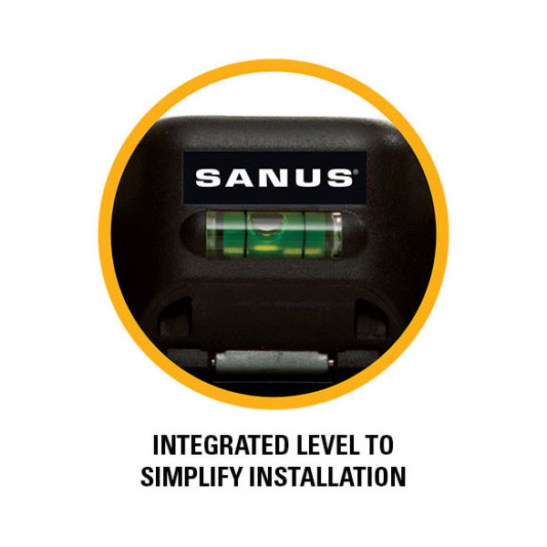 Sanus Simplysafe Fixed Tv Wall Mount For Most 47 Quot 80