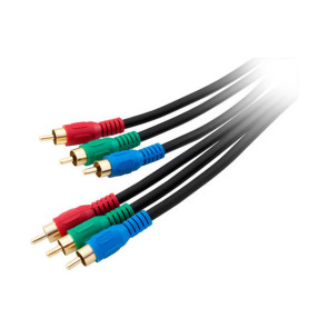 Component Video 3 RCA to 3 RCA Cable 2m