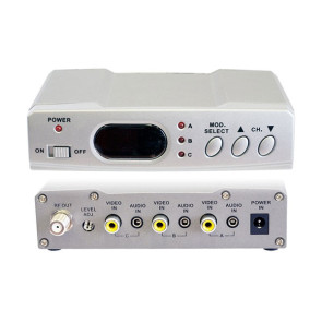 Pro2 AV 3 Input RF Modulator with Gain Control RFMX3
