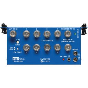 Resi-Linx 3 input / 8 output RF Combiner / Amp / Splitter RL-RF380