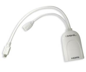 Samsung GALAXY S2 to HDMI Adapter (5-Pin MHL Cable)
