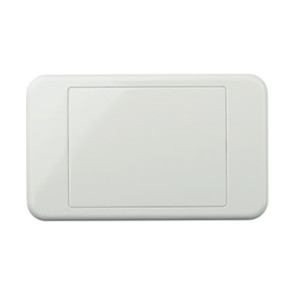 Digitek Custom Blank Wall Plate White 05DWP00