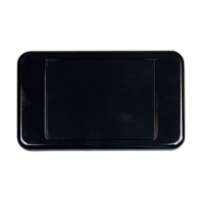 Digitek Custom Blank Wall Plate Black 05DWP00BK