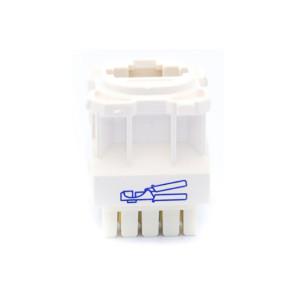 Amdex CAT6 RJ45 Network Insert White DA600WHT