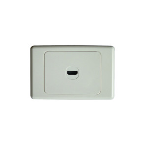 Premium HDMI Wall Plate Single