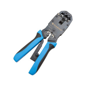 Cabac Professional Crimp Tool for RJ11 / RJ12 & RJ45 06CT468-1
