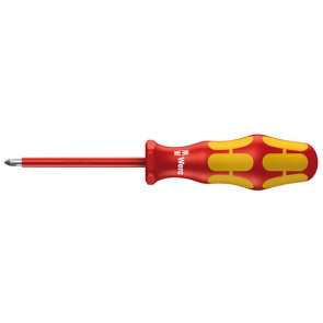 Wera 006159 Kraftform 162i VDE Insulated Screwdriver Phillips Tip 2 x 200mm