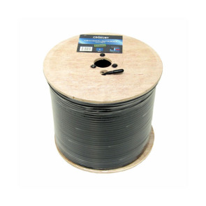 Jonsa RG6 Tri Shield Coaxial Cable 305m Wooden Reel Foxtel Approved CRG6UBT