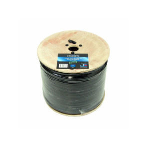 Jonsa RG6 Tri Shield Siamese Coaxial Cable 150m Foxtel Approved CRG6UBTS