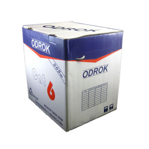 Odrok LC63 CAT6 LAN Cable Yellow per metre