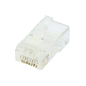 CAT6 RJ45 8P8C Plug Un-Shielded 2PC (50 pack)