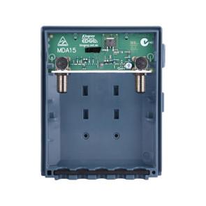 Kingray 15dB Wideband (UHF / VHF) Low Noise Mast Head Amplifier MDA15W