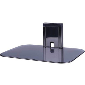 Sanus Vuepoint  On-Wall AV Glass Shelf for Components Up to 7kg FPA400