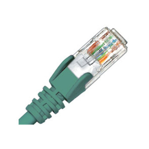 Hypertec CAT6 Patch Lead 0.3m Green