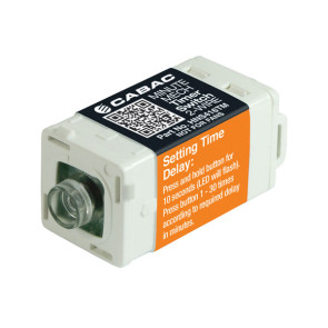 Cabac S-Click Minute Timer S-Premium 2-Wire (Clipsal Saturn) HNS416TM