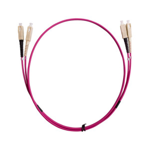 SC-SC Duplex OM4 Multimode Fibre Patch Lead 2m