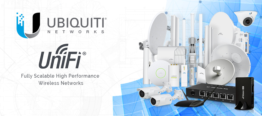 Ubiquity & Unifi in store now!