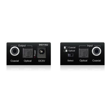 Blustream DIG11AU Digital Coaxial or Optical Audio Converter