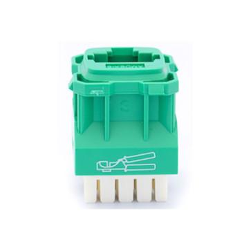 Amdex CAT5e RJ45 Network Insert Green DA103GRN