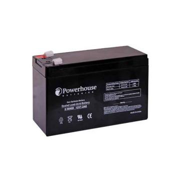Powerhouse 12v 7.2Ah Sealed Lead Acid (SLA) Battery S5090D