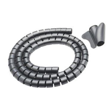 Easy Wrap 20mm Black Cable Management 20m