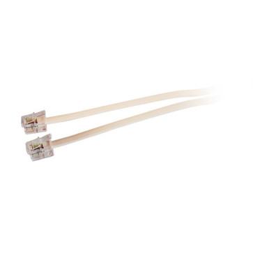 Modular Plug Telephone Lead (6P4C) 10m Ivy