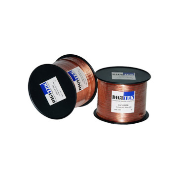 Digitek Fig 8 Speaker Cable 105/0.12 Clear 16AWG