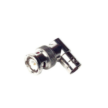 BNC Male to BNC Female Right Angle Adapter - 10 Pack