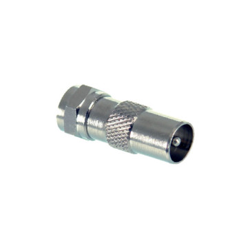 F Type Male to PAL Male Adapter - 10 Pack