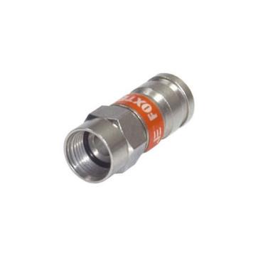 RG6 Quad Compression Crimp F Type Foxtel Approved