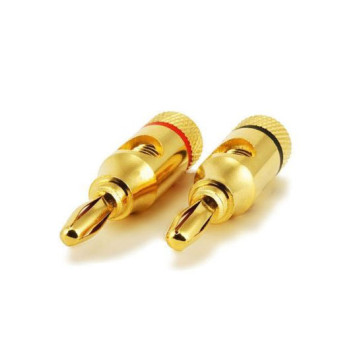 Premium Quality Brass Speaker Banana Plugs