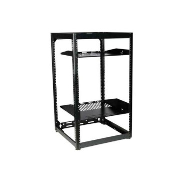 "Sanus 35"" Tall AV Rack 20RU Stackable Skeleton Rack CRF1620"
