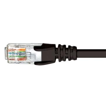 Cabac CAT6 Patch Lead Black 1m PLC6BK0.5