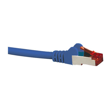 Hypertec CAT6A Shielded Patch Lead Blue 0.5m to 10m