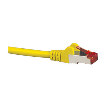 Hypertec CAT6A Patch Lead Yellow 0.5m HCAT6AYL0.5