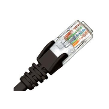 Hypertec CAT6 Patch Lead Black 1.5m HCAT6BK01.5