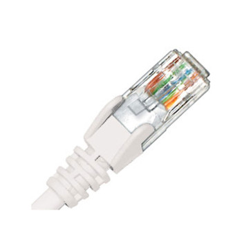 Hypertec CAT6 Patch Lead White 0.5m HCAT6WH0.5