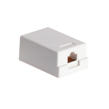 Cabac Surface Mount Box 1 Way CAT6 SMBC61