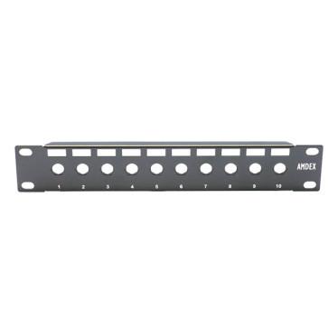 """Amdex SOHO 10"""" Unequipped Keystone Panel DA10-BEZEL"""